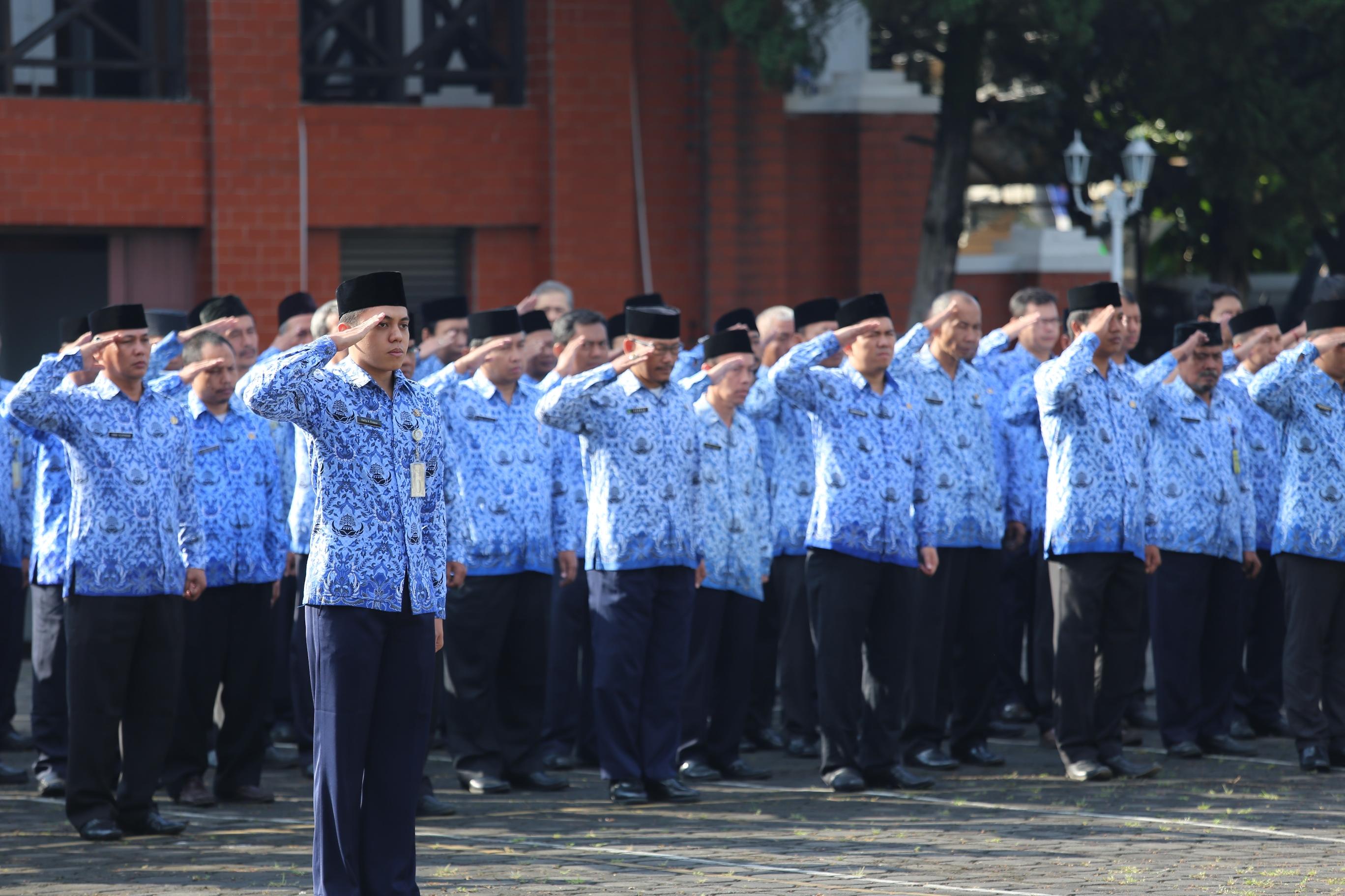 Upacara HUT Indonesia 17 Agustus