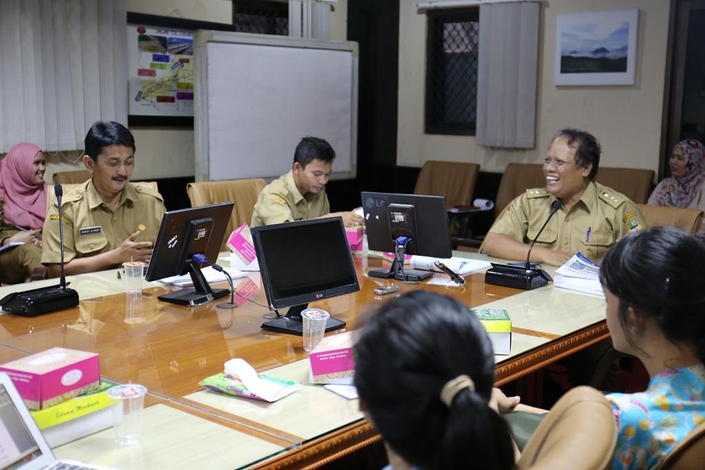 Rapat Pembahasan Laporan Pendahuluan RENIP Pusat Pertumbuhan PALABUHANRATU RAYA