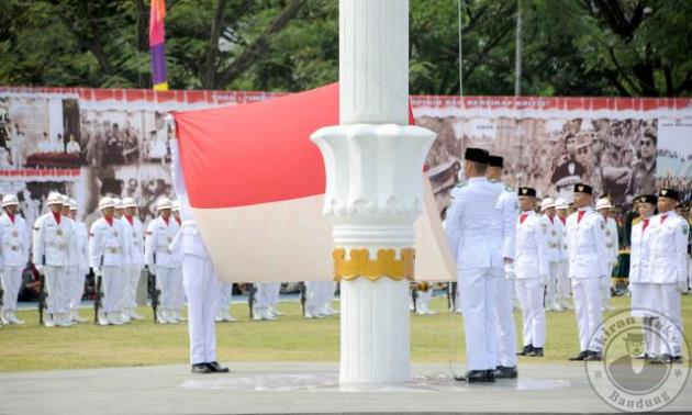 Hari Kemerdekaan Indonesia 2017, Aher Tekankan Makna Demokrasi